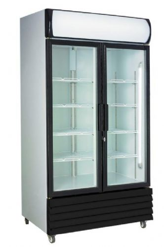 Prodis XD1201 Double Door Tall Shop Display Fridge